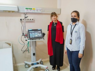 Entregan ocho respiradores al Hospital Nacional de Itauguá