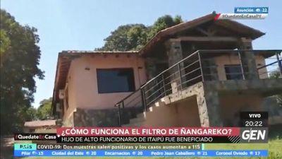 Gana G. 30 millones en Itaipú y su hijo es beneficiario de Ñangareko