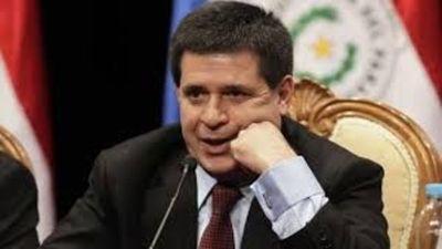 Fiscalía de Brasil dictamina a favor de Cartes