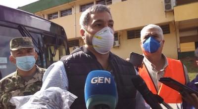 Covid-19: Mario Abdo anuncia que la cuarentena se extenderá una semana más