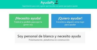 Crean plataforma web para conectar gente que precisa ayuda con quienes desean ayudar