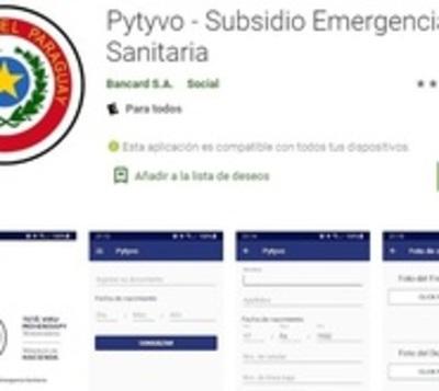 Web y app del programa Pytyvõ están saturadas