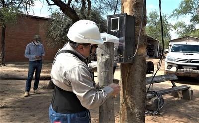 Chaco: Conexión eléctrica llega por primera vez para la zona de Teniente Martínez