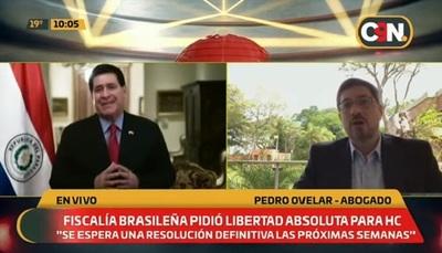 Fiscalía brasileña solicita libertad absoluta de Cartes, según abogado