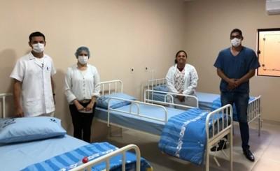 Habilitan Pabellón Materno Infantil del Hospital de Santa Rita