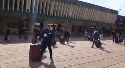 """Paraguayos que estaban en Academil: """"Una dulzura de personas fueron ellos"""", dice comandante"""