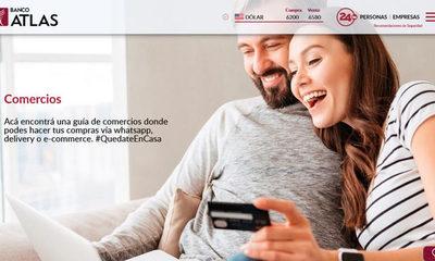 Banco Atlas habilita guía comercial a través de su página web