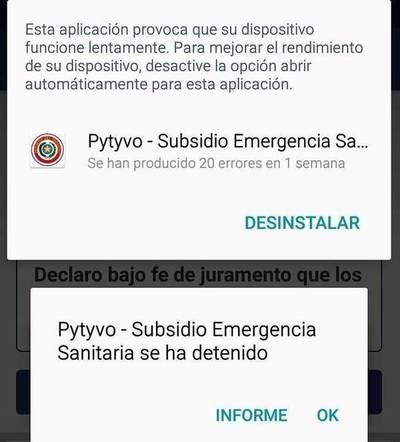 No pueden inscribirse: reportan errores en sistema Pytyvo