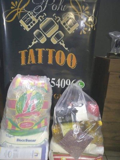 """""""Cambia"""" tatuajes por alimentos para ayudar"""