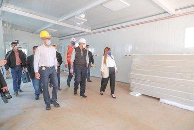 Marito visitó área de contingencia pyahu en Itauguá