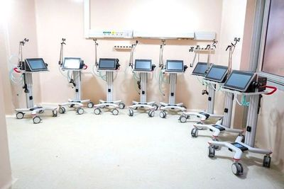 Hospital de Itauguá recibe 8 respiradores