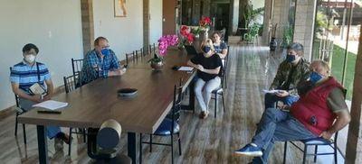 Mediante reunión virtual autoridades locales informan a ministro de Salud sobre situación en Alto Paraná