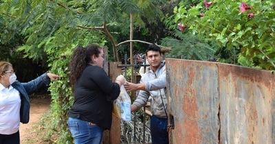 Municipalidad entregó víveres