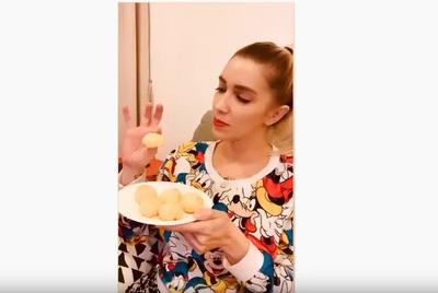 Carmiña Masi decidió cocinar, pero luego advirtió: 'No me sigan para más recetas'