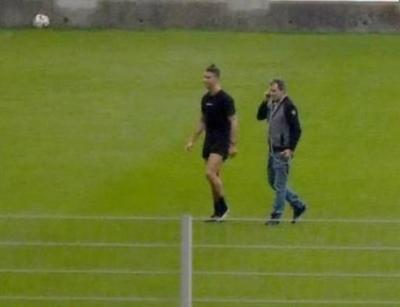 HOY / Cristiano Ronaldo vuelve a entrenar donde se inició en el fútbol