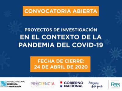 Conacyt financiará proyectos de investigación sobre el Covid-19
