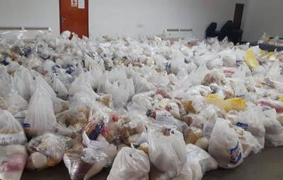 Gobierno ya entregó más de 76.000 kits y 590.000 kilos de alimentos