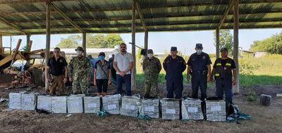 Incautan 385 kilos de cocaína en el Chaco