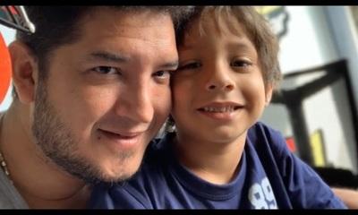 """Júnior Rodríguez: """"Día a día trato de ser mejor padre"""""""