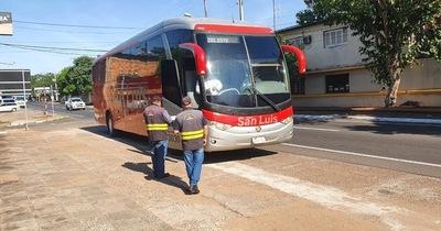 Dinatran extiende suspensión del servicio de transporte de pasajeros al interior