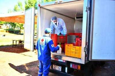 Gobierno brinda asistencia logística, sanitaria y alimentación a través de Itaipu