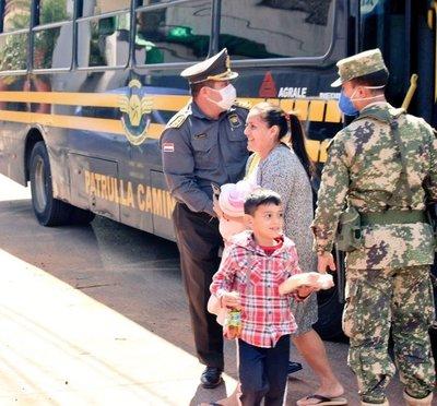 CONCLUYÓ CUARENTENA OBLIGATORIA DE 241 CONNACIONALES Y HOY SERÁN TRASLADADOS A SUS DOMICILIOS