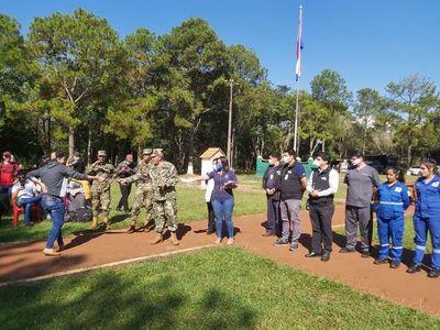 Culmina cuarentena de 236 compatriotas albergados en Alto Paraná
