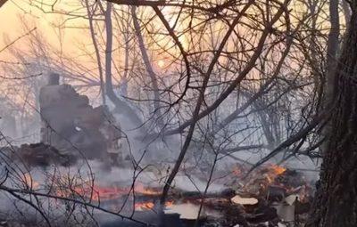 Lo que faltaba: Incendio se acercan a desechos radiactivos de Chernobyl