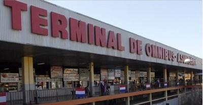 Terminal de Ómnibus continuará cerrado hasta el domingo 19