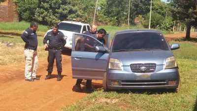 Recuperan vehículo robado en Ciudad del Este