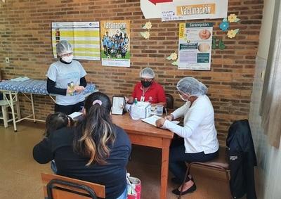 El Concepción, se inicia vacunación contra la Influenza