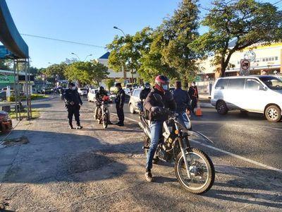 """Merma la circulación de personas y vehículos con cuarentena """"reforzada"""""""