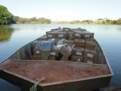Existen 3 MIL puertos clandestinos en las márgenes del LAGO de ITAIPÚ y del río PARANÁ.