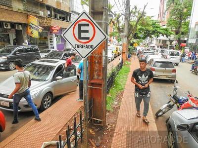Prieto ya CAUSO PERJUICIO de G. 300 millones al municipio con suspensión ESTACIONAMIENTO CONTROLADO