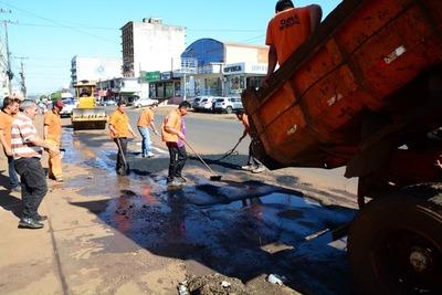 """Desastroso """"BACHEO"""" es una BURLA a la ciudadanía en CDE"""