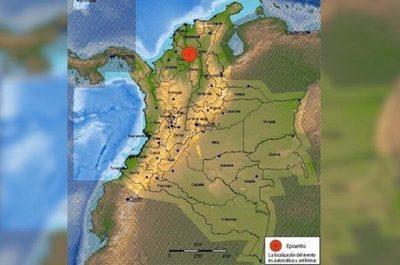 Impactantes imágenes del sismo que sacudió Colombia