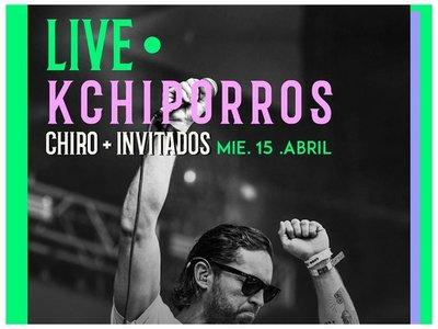 Kchiporros dará concierto por Instagram