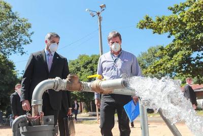 Terminan primeros cuatro pozos de Essap para garantizar servicio en barrios del Área Metropolitana