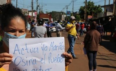 HOY / Cacerolazos y protestas por falta de asistencia en Presidente Franco