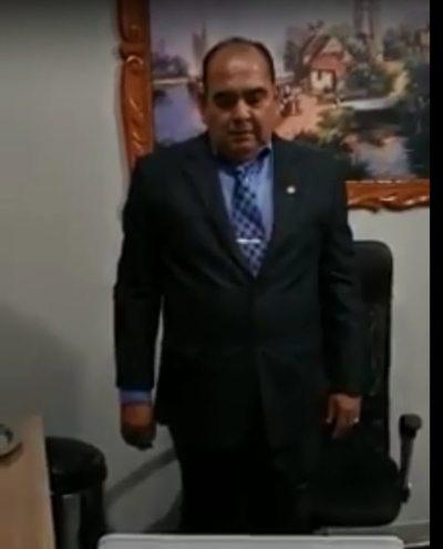 Schatp Bogado, el primer senador en jurar de forma virtual