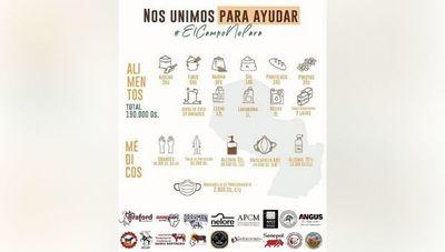 #ElCampoNoPara: asociaciones ganaderas se unen para donar kits e invitan a participar