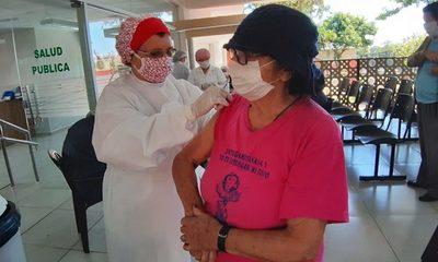 Más de 5 mil inmunizados contra influenza, en un día