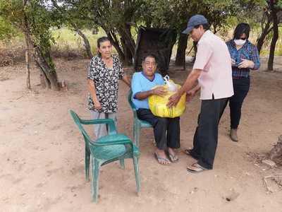 Oñondivepa Loma Plata: Una iniciativa conjunta para paliar la necesidad de alimentos