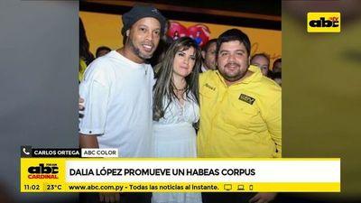Dalia López promueve un hábeas corpus