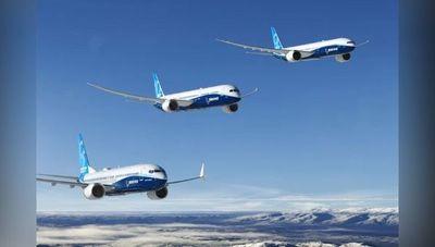 Boeing informa sobre aeronaves entregadas en el 1T