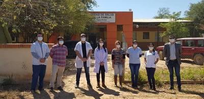 Anuncian contratación de profesionales médicos para USF de Boquerón
