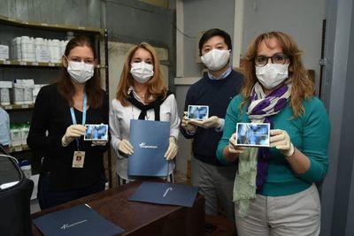 Sector privado donó 10.000 kits de detección del coronavirus