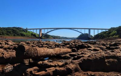 Piden a Itamaraty reducir embalses brasileños ante bajante del río Paraná