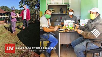 GOBERNACIÓN ENTREGA SEMILLAS PARA HUERTA.