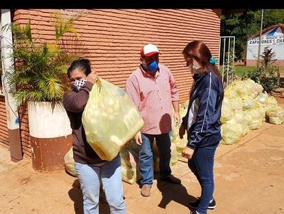 Municipalidad de Horqueta inicia entrega de 1.500 kits de víveres